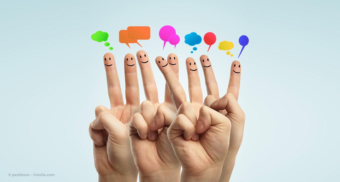 Bloggende Finger