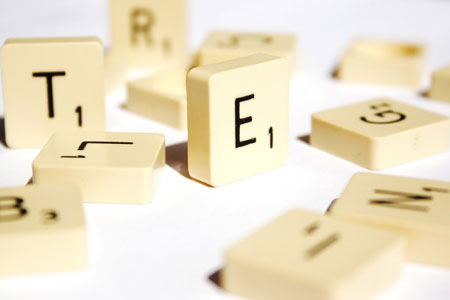 Buchstabensteine
