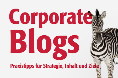 "Buch-Cover ""Corporate Blogs"""