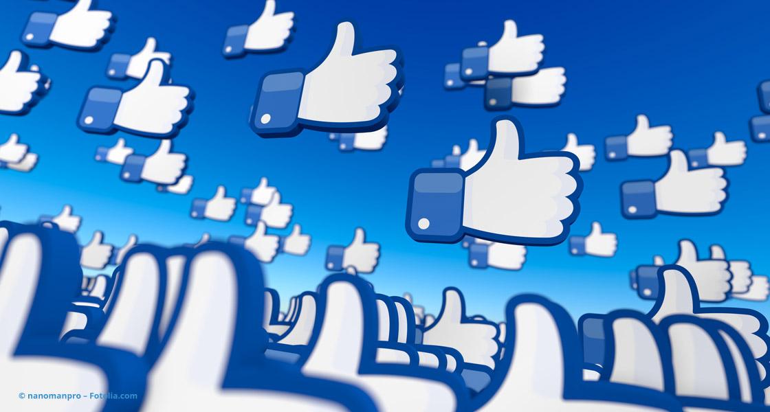 Ein Himmel voller Facebook-Likes