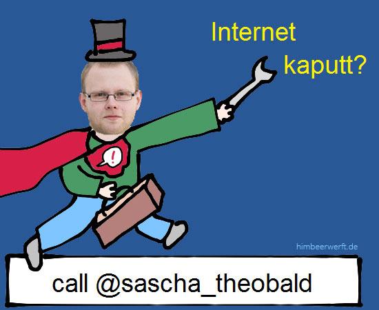 Internet kaputt? Call @sascha-theobald
