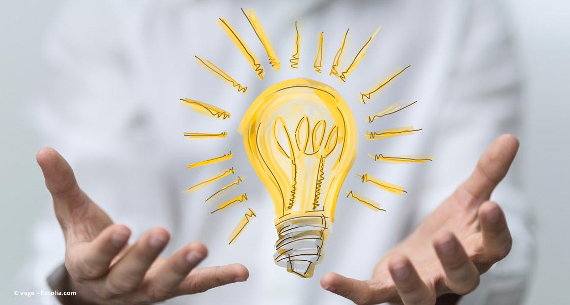 Leuchtende Ideen für Positionierung und Unternehmenskommunikation