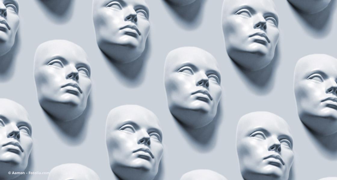 Gleiche Masken machen austauschbar © Aamon – Fotolia.com